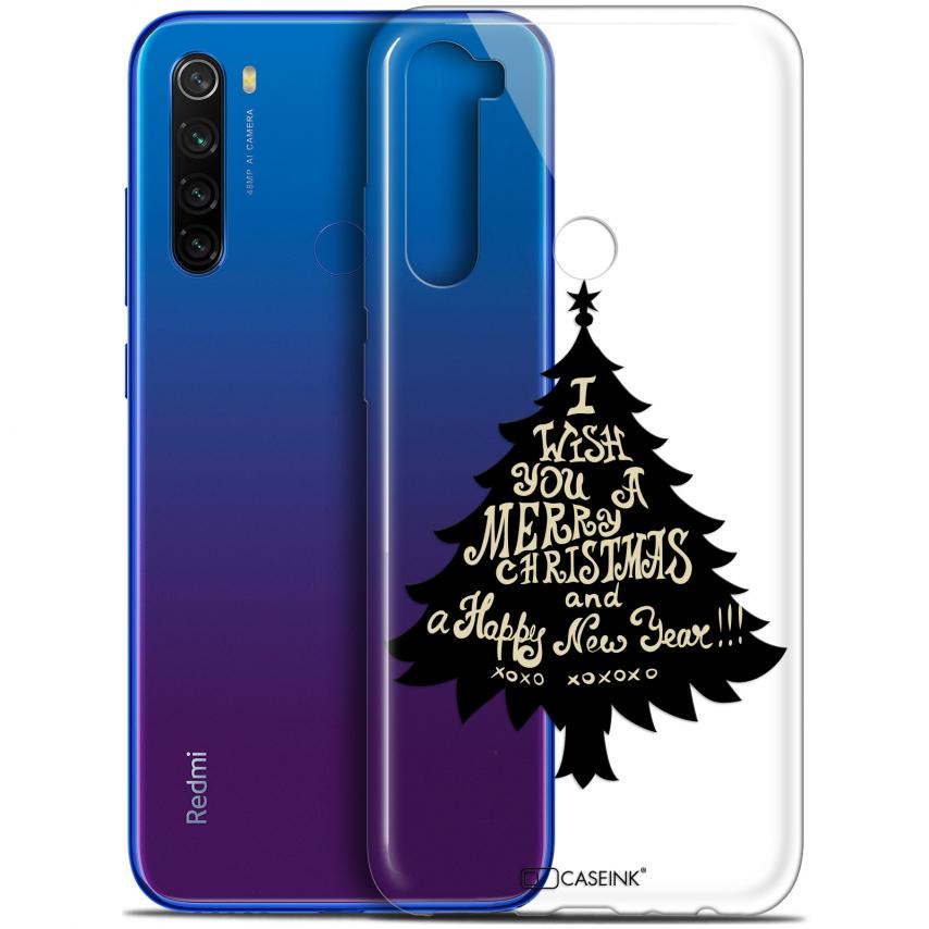 "Coque Gel Xiaomi Redmi Note 8T (6.3"") Extra Fine Noël 2017 - XOXO Tree"
