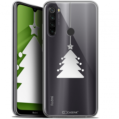 """Coque Gel Xiaomi Redmi Note 8T (6.3"""") Extra Fine Noël 2017 - Petit Arbre"""
