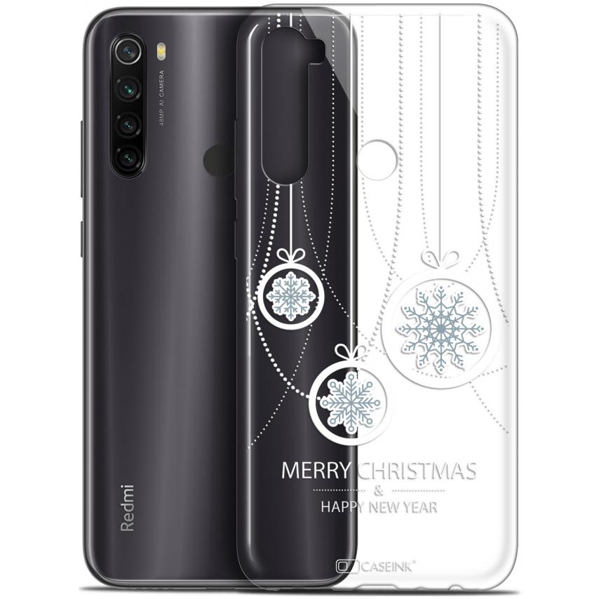 "Coque Gel Xiaomi Redmi Note 8T (6.3"") Extra Fine Noël 2017 - Christmas Balls"