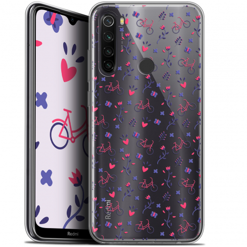 "Coque Gel Xiaomi Redmi Note 8T (6.3"") Extra Fine Love - Bicycle"