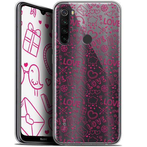 "Coque Gel Xiaomi Redmi Note 8T (6.3"") Extra Fine Love - Doodle"