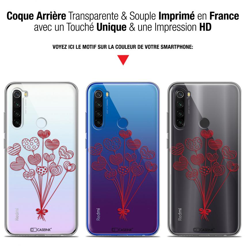 "Coque Gel Xiaomi Redmi Note 8T (6.3"") Extra Fine Love - Ballons d'amour"