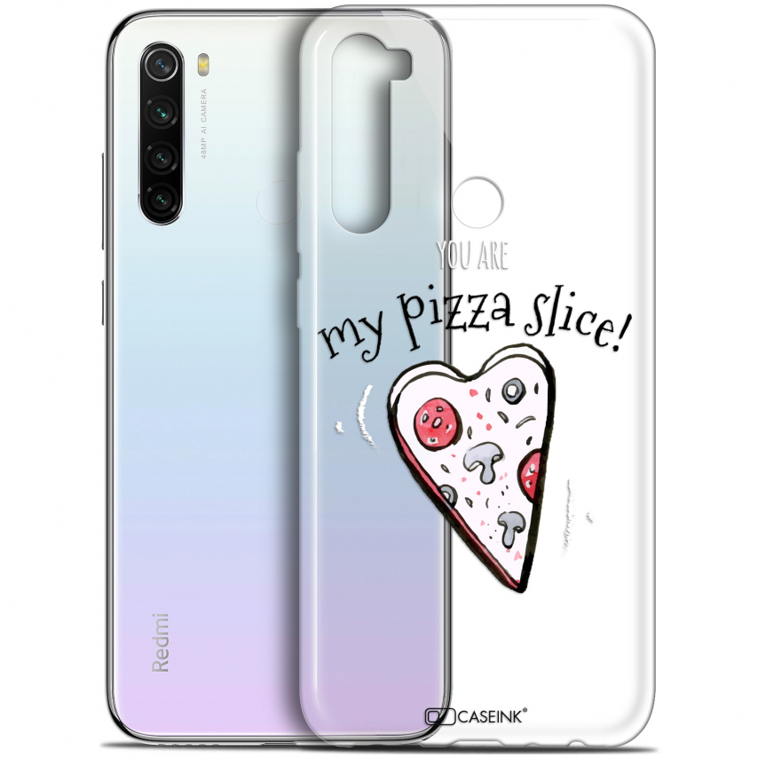 "Coque Gel Xiaomi Redmi Note 8T (6.3"") Extra Fine Love - My Pizza Slice"