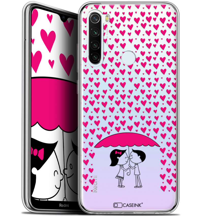 "Coque Gel Xiaomi Redmi Note 8T (6.3"") Extra Fine Love - Pluie d'Amour"