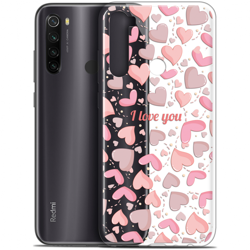 "Coque Gel Xiaomi Redmi Note 8T (6.3"") Extra Fine Love - I Love You"
