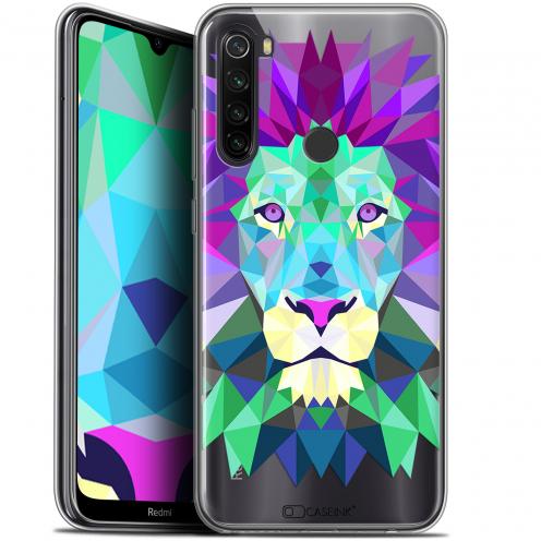 "Coque Gel Xiaomi Redmi Note 8T (6.3"") Extra Fine Polygon Animals - Lion"
