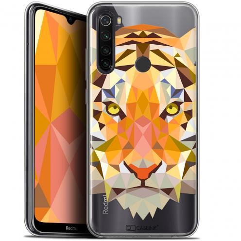 "Coque Gel Xiaomi Redmi Note 8T (6.3"") Extra Fine Polygon Animals - Tigre"
