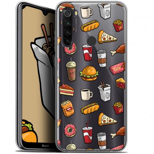 "Coque Gel Xiaomi Redmi Note 8T (6.3"") Extra Fine Foodie - Fast Food"