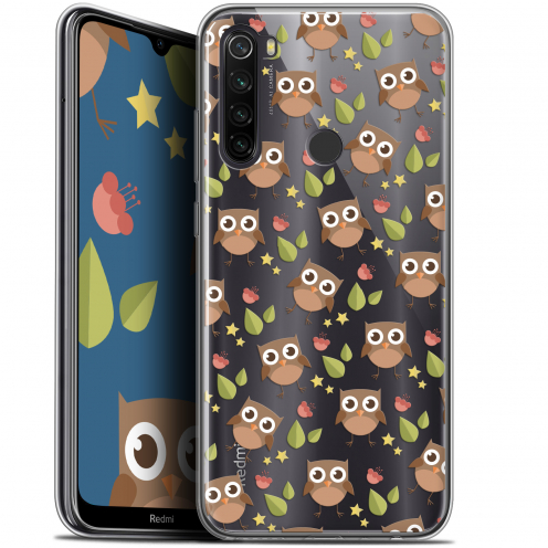 "Coque Gel Xiaomi Redmi Note 8T (6.3"") Extra Fine Summer - Hibou"