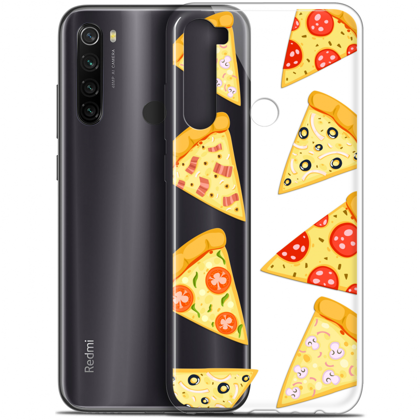 "Coque Gel Xiaomi Redmi Note 8T (6.3"") Extra Fine Foodie - Pizza"