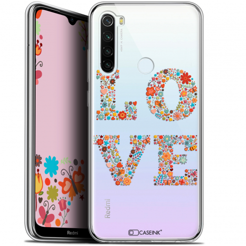 "Coque Gel Xiaomi Redmi Note 8T (6.3"") Extra Fine Summer - Love Flowers"