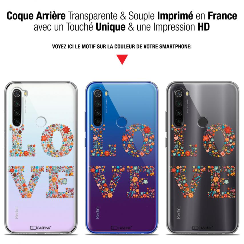 """Coque Gel Xiaomi Redmi Note 8T (6.3"""") Extra Fine Summer - Love Flowers"""