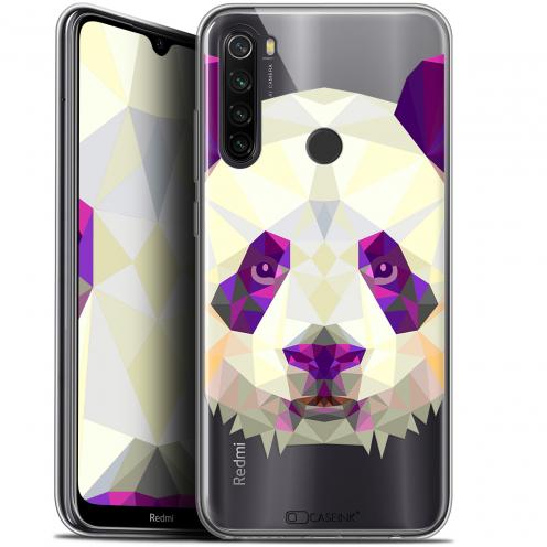 "Coque Gel Xiaomi Redmi Note 8T (6.3"") Extra Fine Polygon Animals - Panda"