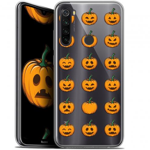 "Coque Gel Xiaomi Redmi Note 8T (6.3"") Extra Fine Halloween - Smiley Citrouille"