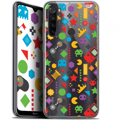 "Coque Gel Xiaomi Redmi Note 8T (6.3"") Extra Fine Motif - PacMan"
