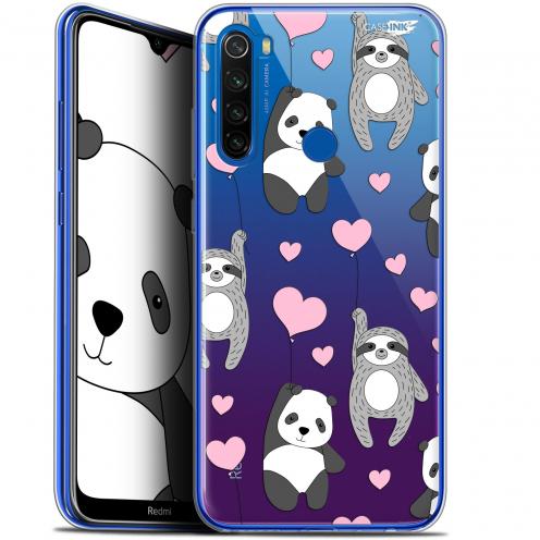 "Coque Gel Xiaomi Redmi Note 8T (6.3"") Extra Fine Motif - Panda'mour"