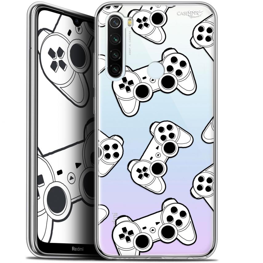 "Coque Gel Xiaomi Redmi Note 8T (6.3"") Extra Fine Motif - Game Play Joysticks"