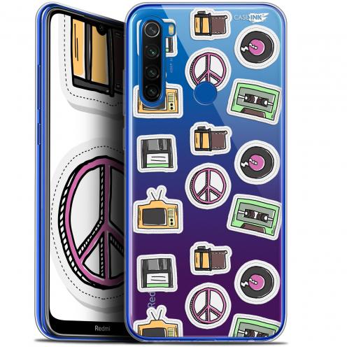 """Coque Gel Xiaomi Redmi Note 8T (6.3"""") Extra Fine Motif - Vintage Stickers"""