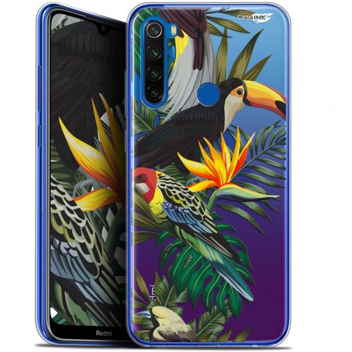 "Coque Gel Xiaomi Redmi Note 8T (6.3"") Extra Fine Motif - Toucan Tropical"