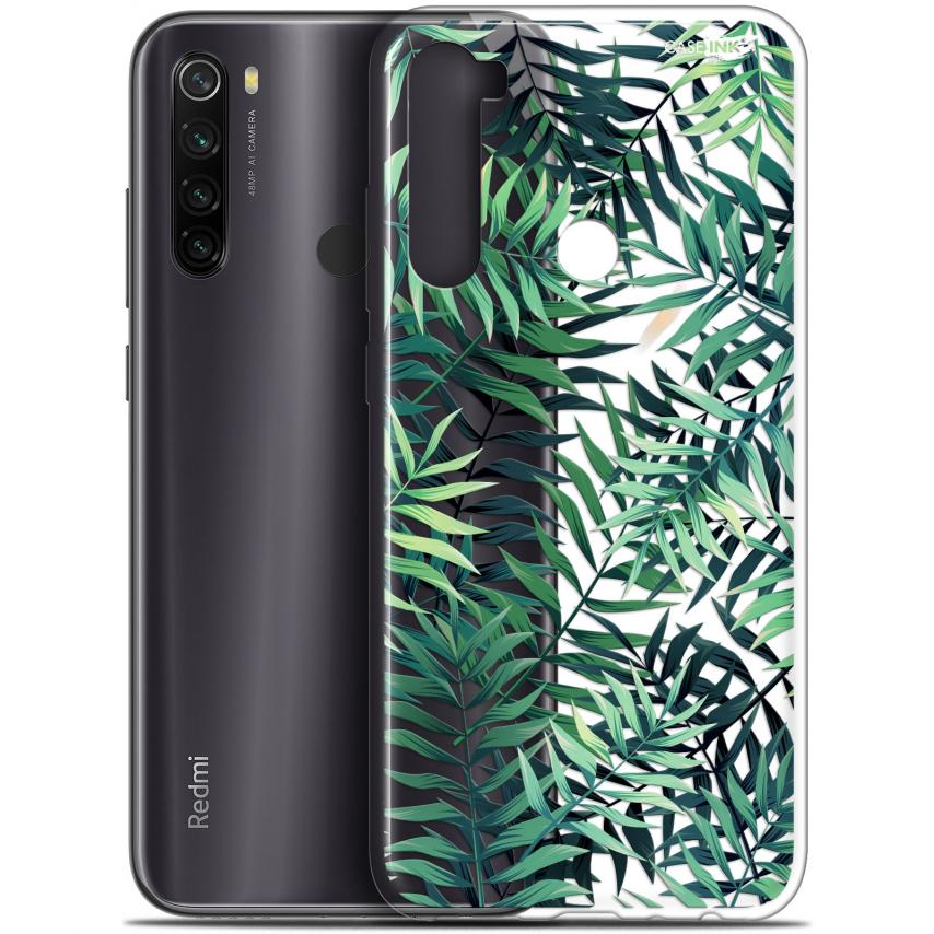 """Coque Gel Xiaomi Redmi Note 8T (6.3"""") Extra Fine Motif - Feuilles des Tropiques"""