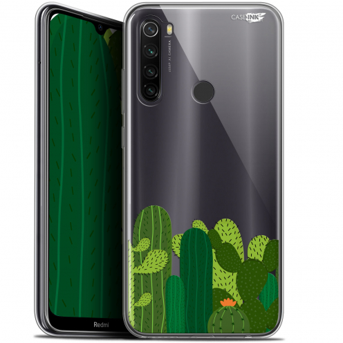 "Coque Gel Xiaomi Redmi Note 8T (6.3"") Extra Fine Motif - Cactus"