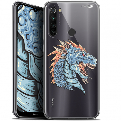 "Coque Gel Xiaomi Redmi Note 8T (6.3"") Extra Fine Motif - Dragon Draw"