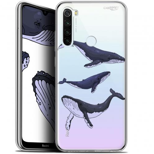"""Coque Gel Xiaomi Redmi Note 8T (6.3"""") Extra Fine Motif - Les 3 Baleines"""