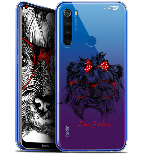 "Coque Gel Xiaomi Redmi Note 8T (6.3"") Extra Fine Motif - Fashion Dog"