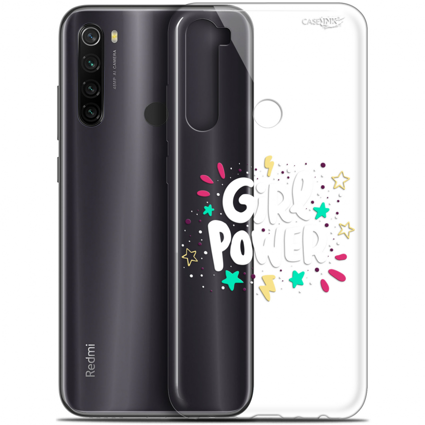 "Coque Gel Xiaomi Redmi Note 8T (6.3"") Extra Fine Motif - Girl Power"