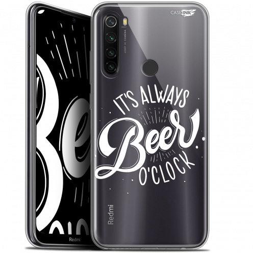 "Coque Gel Xiaomi Redmi Note 8T (6.3"") Extra Fine Motif - Its Beer O'Clock"