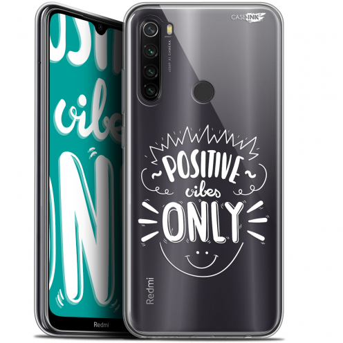 "Coque Gel Xiaomi Redmi Note 8T (6.3"") Extra Fine Motif - Positive Vibes Only"
