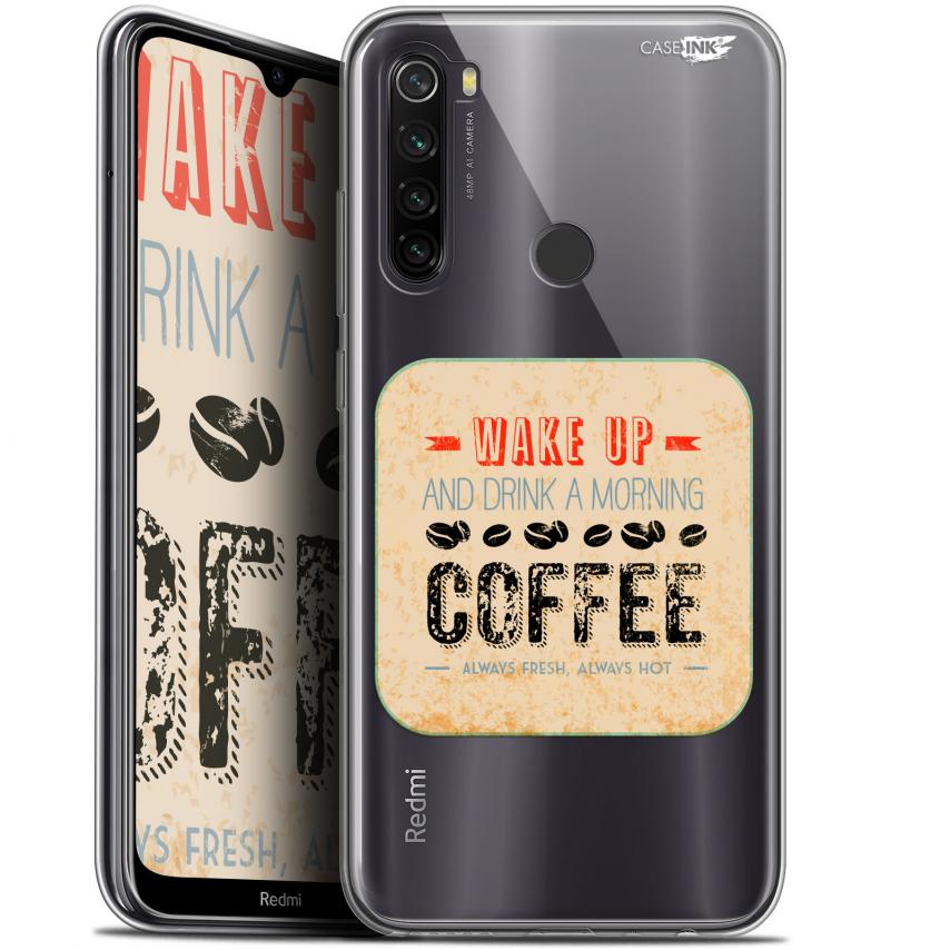 "Coque Gel Xiaomi Redmi Note 8T (6.3"") Extra Fine Motif - Wake Up With Coffee"