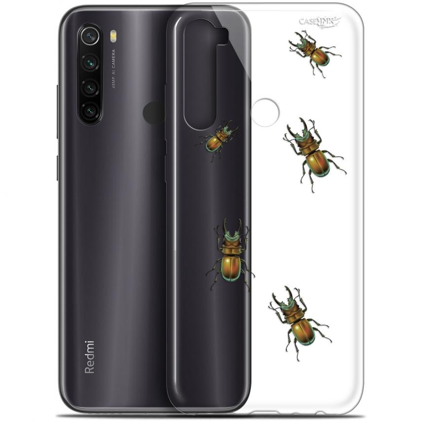 """Coque Gel Xiaomi Redmi Note 8T (6.3"""") Extra Fine Motif - Petits Scarabés"""