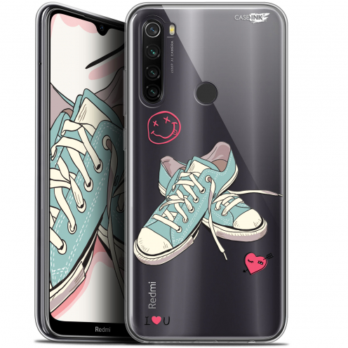 "Coque Gel Xiaomi Redmi Note 8T (6.3"") Extra Fine Motif - Mes Sneakers d'Amour"