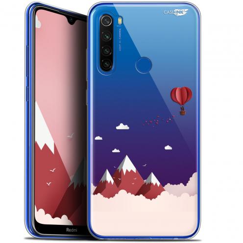 """Coque Gel Xiaomi Redmi Note 8T (6.3"""") Extra Fine Motif - Montagne En Montgolfière"""