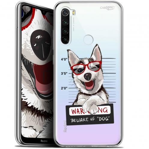 "Coque Gel Xiaomi Redmi Note 8T (6.3"") Extra Fine Motif - Beware The Husky Dog"