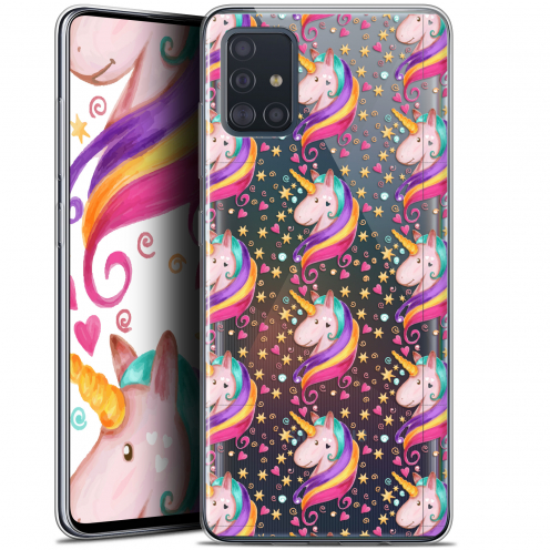 "Coque Gel Samsung Galaxy A51 (A515) (6.5"") Extra Fine Fantasia - Licorne Etoilée"