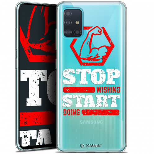 """Coque Gel Samsung Galaxy A51 (A515) (6.5"""") Extra Fine Quote - Start Doing"""