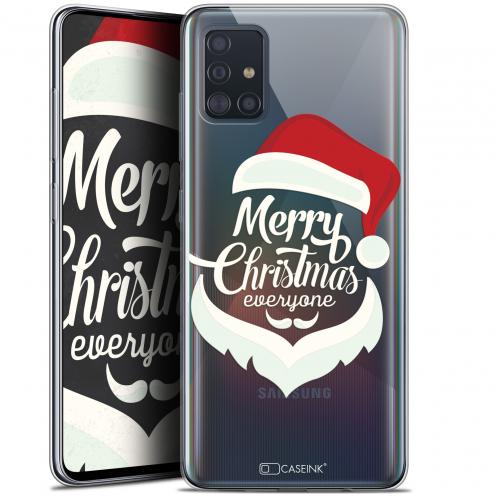 "Coque Gel Samsung Galaxy A51 (A515) (6.5"") Extra Fine Noël 2017 - Merry Everyone"