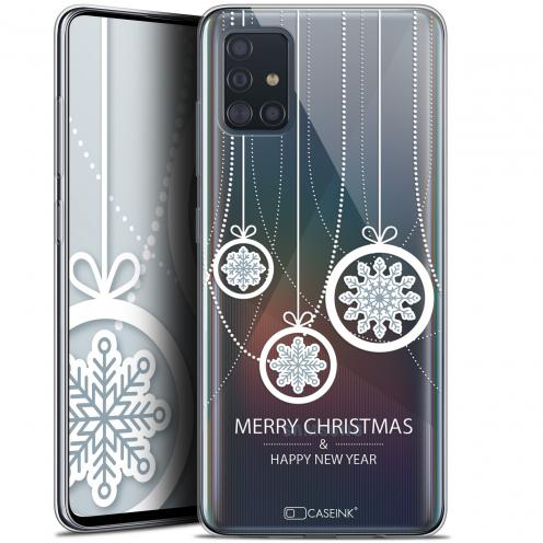"Coque Gel Samsung Galaxy A51 (A515) (6.5"") Extra Fine Noël 2017 - Christmas Balls"