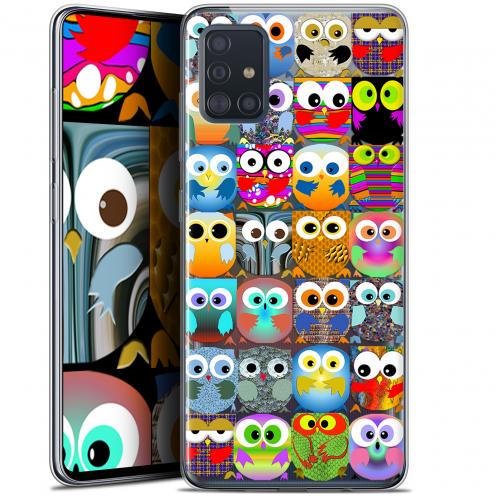 "Coque Gel Samsung Galaxy A51 (A515) (6.5"") Extra Fine Claude - Hibous"