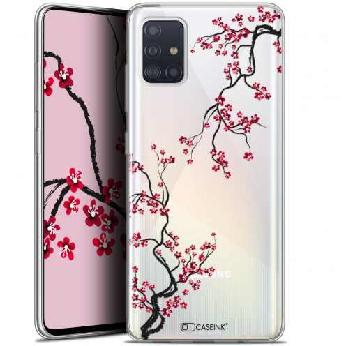 "Coque Gel Samsung Galaxy A51 (A515) (6.5"") Extra Fine Summer - Sakura"