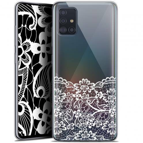 "Coque Gel Samsung Galaxy A51 (A515) (6.5"") Extra Fine Spring - Bas dentelle"