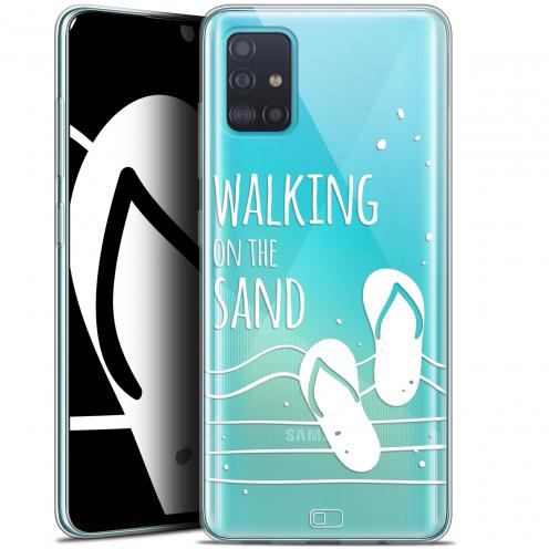 "Coque Gel Samsung Galaxy A51 (A515) (6.5"") Extra Fine Summer - Walking on the Sand"