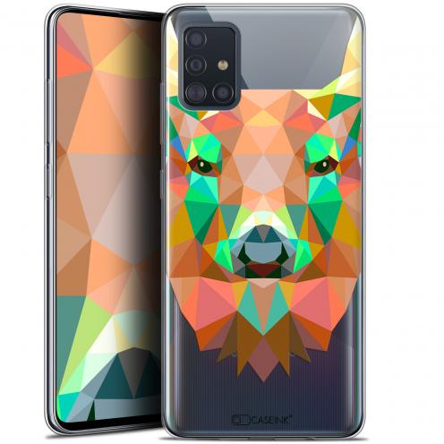 """Coque Gel Samsung Galaxy A51 (A515) (6.5"""") Extra Fine Polygon Animals - Cerf"""