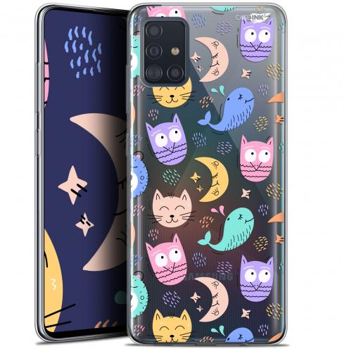"""Coque Gel Samsung Galaxy A51 (A515) (6.5"""") Extra Fine Motif - Chat Hibou"""