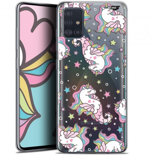 "Coque Gel Samsung Galaxy A51 (A515) (6.5"") Extra Fine Motif - Licorne Dormante"