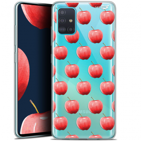 "Coque Gel Samsung Galaxy A51 (A515) (6.5"") Extra Fine Motif - Cerises"