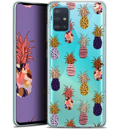 "Coque Gel Samsung Galaxy A51 (A515) (6.5"") Extra Fine Motif - Ananas Gold"