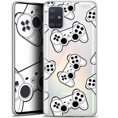"Coque Gel Samsung Galaxy A51 (A515) (6.5"") Extra Fine Motif - Game Play Joysticks"